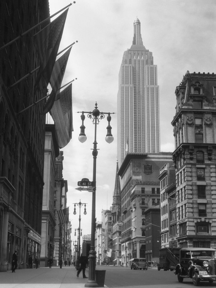 Empire State Building from 41st St and 5th Ave