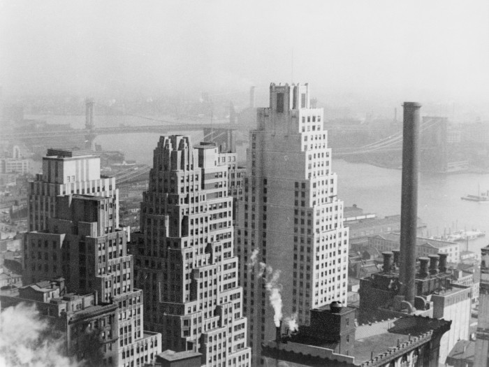 View of Lower New York