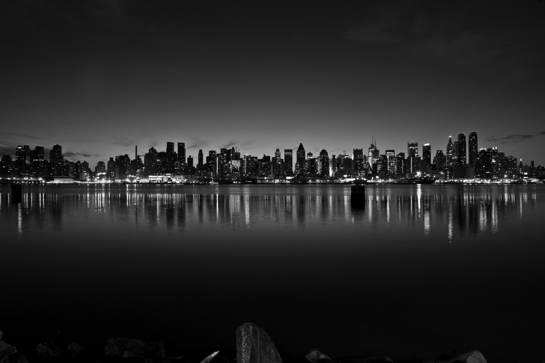 The New York City Skyline Just Before Sunrise | New York ...